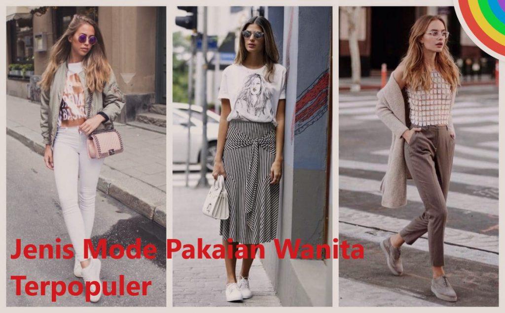Jenis Mode Pakaian Wanita Terpopuler